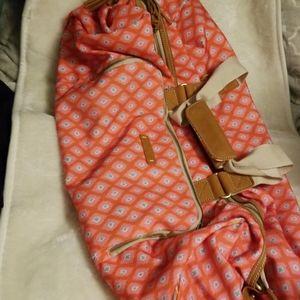 NWOT Dena Designs Duffle Bag Fun Happi Print